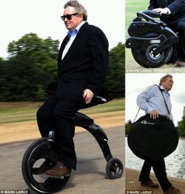 Bicicleta eléctrica para el futuro tecnologico.